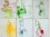 Kunstvermittlung Klement, Lydia Fell, Bewegung I, 1 von 2, je 18x12cm