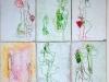 Kunstvermittlung Klement, Lydia Fell, Bewegung I, 2 von 2, je 18x12cm