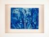 Kunstvermittlung Klement, Kirsten Framing, Blaue Reihe, 2 von 7, 23x28,5x4,5cm