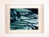 Kunstvermittlung Klement, Kirsten Framing, Gruene Reihe, 3 von 4, 23x28,5x4,5cm