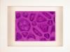 Kunstvermittlung Klement, Kirsten Framing, Violette Reihe, 2 von 3, 23x28,5x4,5cm