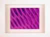 Kunstvermittlung Klement, Kirsten Framing, Violette Reihe, 3 von 3, 23x28,5x4,5cm