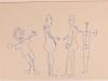 m) Kunstvermittlung Klement, Petra Kretzschmar, Familie, 29,7x42cm