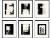Kunstvermittlung Klement, Petra Kretzschmar, analog-digital (gerahmt), 6 Teile je 50x40cm