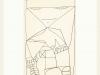 Kunstvermittlung Klement, Petra Kretzschmar, Frau, kantig (gerahmt), 40x30cm