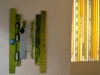 Przemek Nowak: Lichtstreifen-Installation
