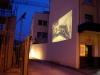 Projektion von Przemek Nowak, Köln, 2009