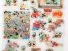 Kunstvermittlung Klement, Parzival, Donald Duck , 55x38cm, Rueckseite