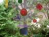 Kunstvermittlung Klement, Parzival, Stahl-Skulptur \'Baum\', 220x170cm, Foto Parzival Fotoarchiv