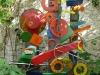 Kunstvermittlung Klement, Parzival, Stahl-Skulptur \'Stelen\', 180x200cm, Foto Parzival Fotoarchiv