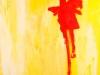 Kunstvermittlung Klement, Lydia Fell, Gelb ist scheisse, 100x80cm