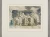 Andreas Scholz – Im Bereich der Vorstellung, 40x50 cm, gerahmt unter Glas 57x65, Verkaufspreis: 150,-€
