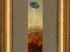 Bernhard Mertens – ohne Titel, 30x6 cm, gerahmt 50x26 cm, Öl auf Leinwand auf Holz, Verkaufspreis: 150,-€