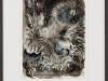 Antonius Höckelmann – ohne Titel, 35x27 cm, gerahmt unter Glas 57x47 cm, Mischtechnik auf Papier, Einstiegsgebot: 1.000,-€