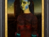 Bernhard Mertens – Ma Femme, 63x43 cm, gerahmt 80x60 cm, Öl auf Pressspan, Einstiegsgebot: 800,-€