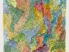 Bernard Schultze – Farbig verhakt, 42x30 cm, Aquarell und Tusche auf Karton, Einstiegsgebot: 450,-€