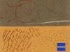 Dennis Thies – Serie Palare con Terra, 35x30 cm, Mischtechnik auf Leinwand, Einstiegsgebot: 300,-€