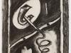 Ira Bartell – Spirale, 68x50 cm, Kohle auf Papier, Preis auf Anfrage
