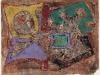 Robert Schuppner – ohne Titel, 55x70 cm, Mischtechnik auf Papier, Preis auf Anfrage