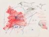 Siegfried Anzinger – ohne Titel, 40x55 cm, Kreide auf Papier, Preis auf Anfrage