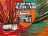 Troels Wörsel – Weinetikett, 50x70 cm, Mischtechnik auf Leinwand, Preis auf Anfrage