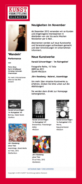 Klement Newsletter 11-2012 Bild