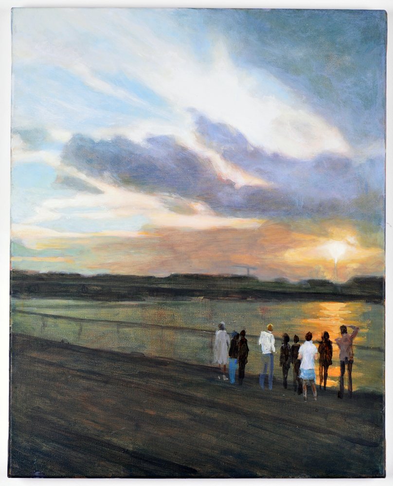 Ulrike Heidkamp: Am Rhein